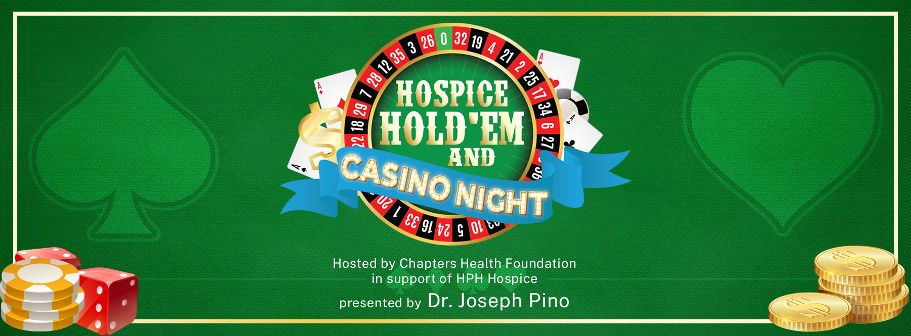 Hospice Hold'Em and Casino Night